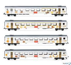 4-teiliges Set BLS Kambly-Zug mit EW III