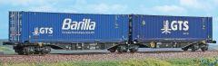 "Containertragwagen Sggmrss 90 GTS ""Barilla"""