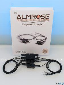 Magnetkupplungen mit 2-poliger elektrischer Verbindung 10 Stück