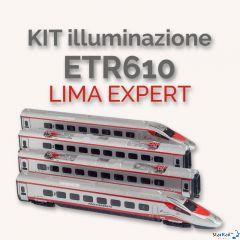 Platine mit LED Innenbeleuchtung zum Grundset ETR 610 / RABe 503 von LIMA EXPERT
