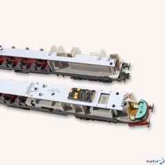 Platine mit LED Innenbeleuchtung passend zum Aln 448/442/460 von Roco
