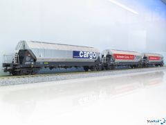Set mit 3 Tagnpps SBB Cargo