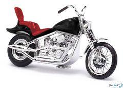 Amerikanisches Motorrad schwarz
