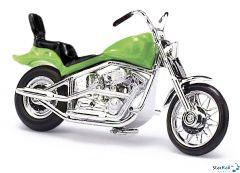 Amerikanisches Motorrad grün