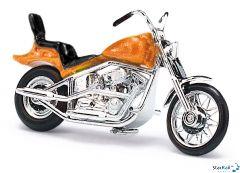 Amerikanisches Motorrad orangemetallic