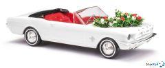 Ford Mustang Cabrio Hochzeit & Girlande