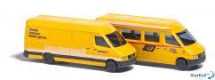 2-teiliges Set Mercedes Benz Sprinter Post & Postauto