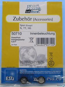 2 Stück PowerPack Energiespeicher für Innenbeleuchtung 0.22F