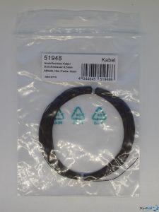 Hochflexibles Kabel Ø 0.5mm AWG36 10 Meter braun