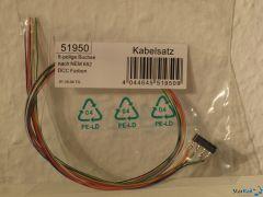 Kabelsatz mit 8-poliger Buchse nach NEM 652
