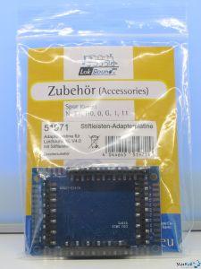 Adapterplatine für LokSound XL mit Stiftleisten