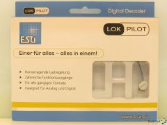 LokPilot 5 micro DCC/MM/SX, 6-pin Direkt gewinkelt