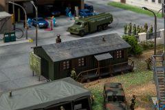 Militärbaracke