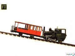 Brienz-Rothorn-Bahn Set mit Lok 7, Wagen 21 und Gleis