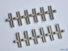Isolier-Schienenverbinder 12 Stück