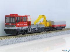 Gleiskraftwagen Robel Tm 234 SOB V-VI