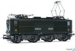 Elektrolokomotive BB 1521 der SNCF grüne Farbgebung Epoche III Analog