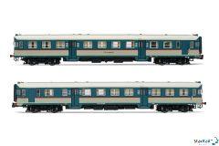 2-teiliges Set FS ALn 668 1017 + ALn 668 1037 Triebwagen IV-V