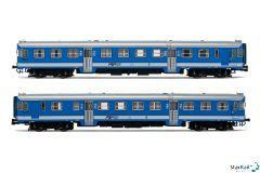 2-teiliges Set FSF ALn 668 017 + ALn 668 015 Triebwagen IV-V
