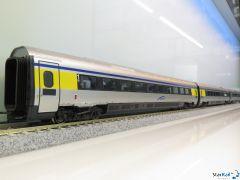 3-teiliges Set Elektrotriebzug ETR 610 002 Cisalpino