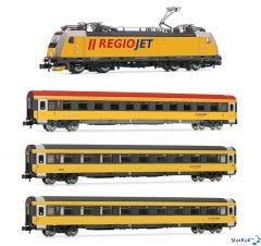 Set Regiojet BR 186 & 3 Personenwagen