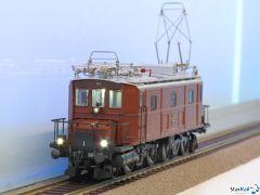 Museumslokomotive BLS Ce 4/6 307 Analog