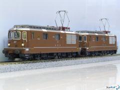 BLS E-Lok Re 4/4 173 Lötschental & SEZ Re 4/4 177 Zweisimmen StarRail-Edition Märklin-System Sound