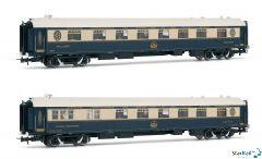 """2-teiliges Set Pullmann und Speisewagen """"Venice Simplon Orient Express"""" Innenbeleuchtung Ep. IV-V"""
