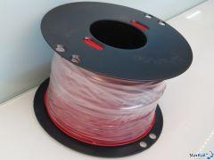 Rolle TQ-Litze 0.5 mm² rot 200 Meter