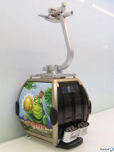 Omega IV Umlaufkabine Grächen Froschkönig