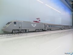 4-teiliges Set SJ X2000 grausilber Märklin-System