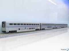 106-3516 4-teiliges Set B mit Amtrak Superliner I Phase VI
