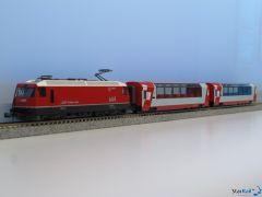 10-1145 3-teiliges Grundset Glacier Express