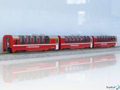 10-1655 3-teiliges Set RhB Bernina Express