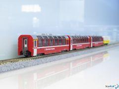 10-1656 4-teiliges Set RhB Bernina Express