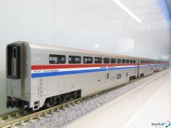 106-3517 Set mit 4 Amtrak Superliner Phase III