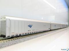 106-5506 Set mit 4 Amtrak Auto Train Phase V