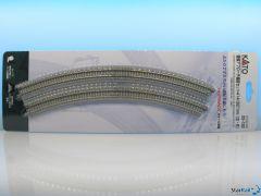20-182 Einfahrt Gleis gebogen zweigleisig R414 & R381 22.5° je 1  Stück links und rechts