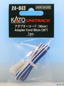24-843 Adapterkabel blau-weiss