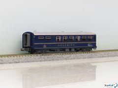 """5280 RhB Restaurantwagen """"GOURMINO"""" blau"""