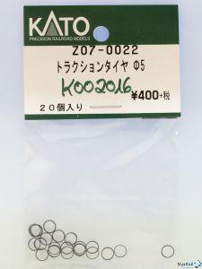 Z07-0022 N Haftreifen-Satz Ø 5 mm 20 Stück