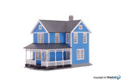 Schwedenhaus blau