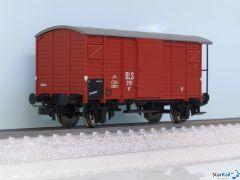 Gedeckter Güterwagen K2 BLS 3101 rot mit Bremserhaus Ep. III