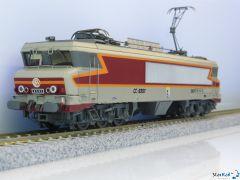 SNCF CC 6567 gris béton, livrée Arzens, logo Beffara, 160 km/h, Analog