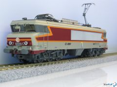 SNCF CC 6567 gris métallisé, livrée Arzens, logo Beffara, 160 km/h, Märklin-System