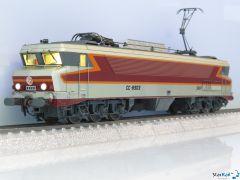 SNCF CC 6503 gris métallisé, livrée Arzens, logo Beffara, 160 km/h, Märklin-System Sound