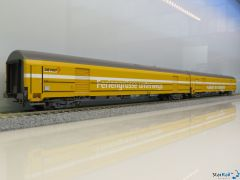 2-teiliges Set Schweizer Postwagen Z ex PTT France