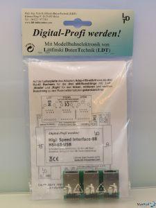 3-fach s88-N Adapter Adap-HSI-s88-N