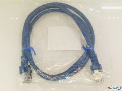 LDT 000131 Patchkabel 1m SF/UTP Cat.5e blau