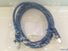 LDT 000132 Patchkabel 2m SF/UTP Cat.5e blau